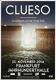 Clueso - Stadtrandlichter 2014 - Konzertplakat, Konzertposter