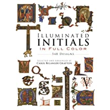 Illuminated Initials in Full Color (Dover Pictorial Archive)