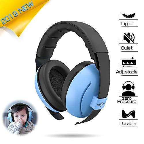 Baby Gehörschutz Ohrenschützer für Kinder - Weichem & Komfortable Kinder Gehörschutz Geräuschunterdrückung Kopfhörer für Babys, Säuglings und Kleinkind mit Verstellbaren Kopfhörern Baby Ohrenschützer