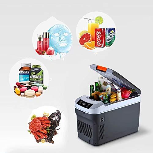 BLJ-car Compresor portátil de 25 litros, congelador y frigorífico, Doble núcleo 12 V / 220 V Coche, Uso Doble en el hogar