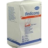 MEDICOMP extra Kompressen 7,5x7,5 cm unsteril 100 St Kompressen preisvergleich bei billige-tabletten.eu