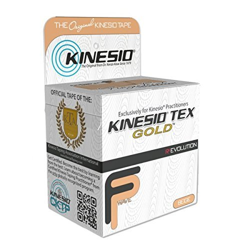 Kinesio Tex Gold Kinesiology Tape Certified Used by Professional Athletes like Gareth Bale in Blue 5cm x 5m by Kinesio