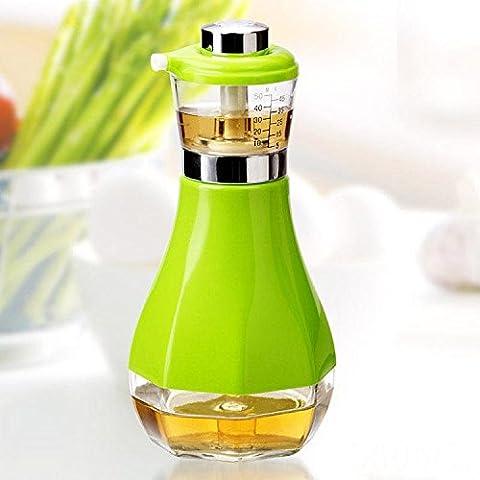 Leckfeste Kochen Olivenöl Spender Soja Sauce Dispenser 2Stk , 1