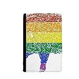 beatChong Arco Iris Gay Lésbico Cerdo Titular del Pasaporte LGBT Monedero De La Cartera De Tarjeta De Viaje Caso De La Cubierta
