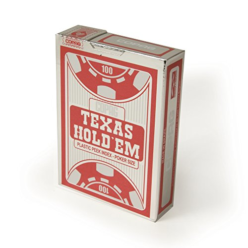 Cartamundi?104008325?Brettspiel?Copag Texas Hold 'em Silver?Spiel von 54Karten? Preisvergleich