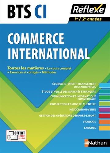 Toutes les matières - BTS Commerce international