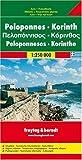Freytag Berndt Autokarten, Peloponnes, Korinth: With Cultural Guide - Map (Maps & Atlases) -