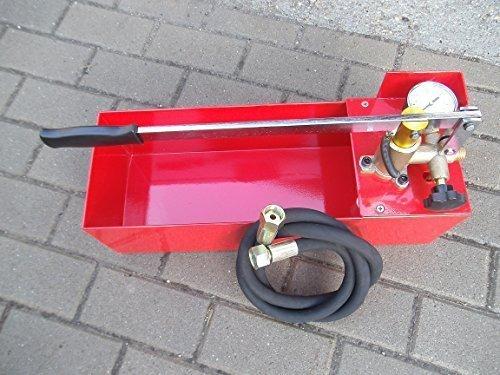 Sanitär-Prüfpumpe, Druckprüfung + Dichtigkeitsprüfung