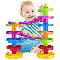 WEofferwhatYOUwant Scivolo per palline con ponte. Formazione Family Fun per