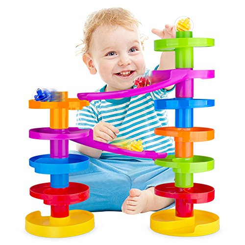 weofferwhatyouwant-ball-drop-advanced-with-bridge-marble-run-educational-family-fun-for-baby-and-tod