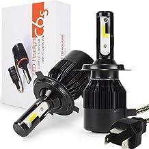 Safego 2x H4 Hi/Lo Faro Bombillas Alquiler de luces LED brillante estupendo de la lámpara con la viruta del COB para el Coche / Camión / Vehículo Auto Llevado conduciendo la Luz de Niebla NO CANBUS