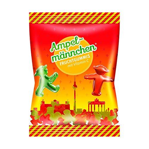 Preisvergleich Produktbild AMPELMANN Fruchtgummis / Himbeere & Waldmeister Geschmack / Gluten- und Laktosefrei,  200 g