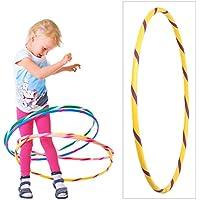 De Colores para niños de Hula Hoop para pequeños Profesionales, Ø70cm, Amarillo-Púrpura