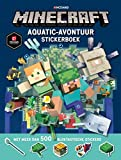 Minecraft Aquatic Survival stickerboek