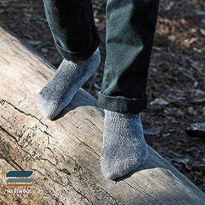 MERIWOOL Merino Wool Kids Hiking Socks for Children 3 Pairs 5