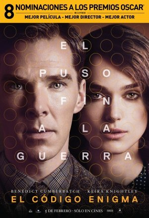 The Imitation Game - Benedict Cumberbatch - Argentinian Imported Movie Wall Poster Print - 30CM X 43CM (The Imitation Game Sheet Music)