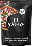 nu3 Fit Low Carb Pizza | 270g Backmischung ohne Hefe | High Protein Pizza dank Leinsamen- & Mandelmehl | nur 2 Gramm Kohlenhydrate pro Pizzaboden | Vegan | fast 15 Gramm Protein pro Pizza