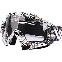 Calistouk - Gafas para la conducción todoterreno de bicicletas, gafas para el polvo, resistentes al viento, popular