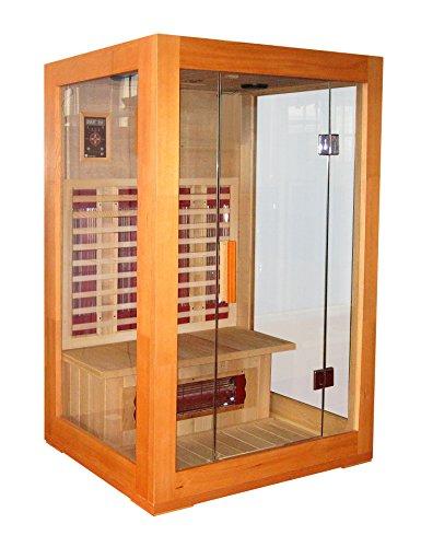 Grupo Contact - Sauna infrarrojas, acristalada de exposición.
