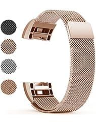 Fitbit Charge 2 Ersatz Armb?nd, BeneStellar Ersatz Milanese Band f¨¹r Fitbit Charge 2
