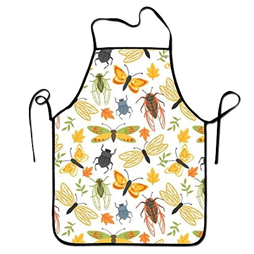 tgyew 2019 Apron Nature Pattern Aprons Printed Apron for Kitchen BBQ Crafting