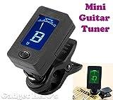 Gadget Hero's Mini Digital LCD Display Automatic Clip-On Chromatic Guitar Bass Violin Ukulele