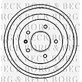 Bbr7018Borg & Beck Frein tambour OE Qualité