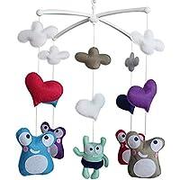 Baby Dream Musical Mobile, Buntes Baby Geschenk, [Lustige Gesichtsausdruck] preisvergleich bei kleinkindspielzeugpreise.eu