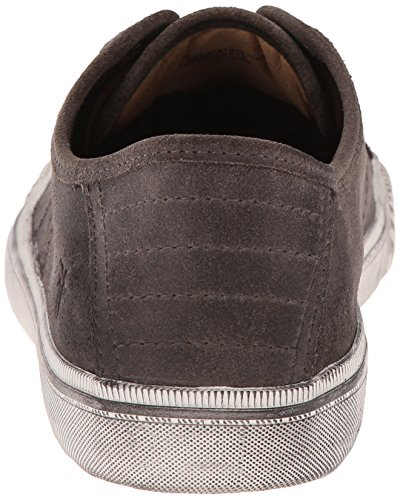 Miller Vintage FRYE Low Leather Mens Waxed Sneaker Lace Charcoal 1wqv5f0xq