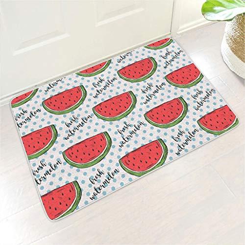 Homedb Felpudo diseño sandías Frescas Frutas Impresas