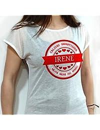 ff93434c453cf Lolapix Camiseta Personalizada con Nombre. Tacto algodón. Varios diseños y  Tallas. Regalo Original