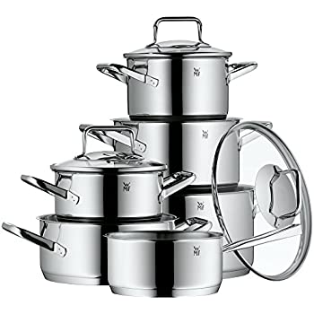 wmf function 4 0760346380 4 piece cookware set kitchen home. Black Bedroom Furniture Sets. Home Design Ideas