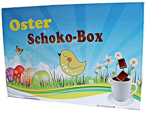 Oster Schoko-Box, Das Schokoladige Ostergeschenk - Tolle Box Mit 12x Märchenhafter Trinkschokolade á 35g (Osterkarton) (Tee Kokosnuss, Weißer Wasser,)