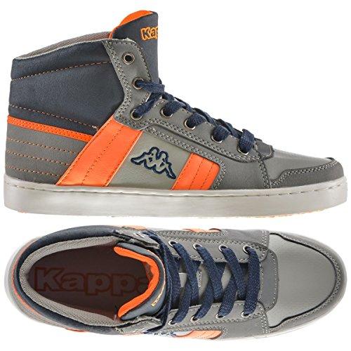 Sneakers - Valessia Kid - Kind Grey-Orange
