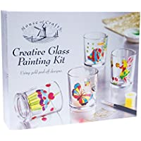 Kit De Pintura De Vidrio Creativo House Of Crafts