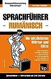 Sprachführer Deutsch-Rumänisch und Mini-Wörterbuch mit 250 Wörtern
