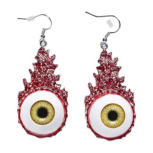 WIDMANN 12463 Blutige Augen Ohrringe, Damen, ()