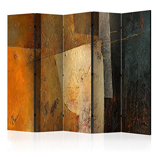murando Paravent XXL: 225x172 cm Réversible Deux Côtés Impression sur Toile intissée 100% Opaque Foto Paravent décoratif en Bois avec Interieur Impression f-A-0517-z-c