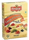 Five Star Custurd Powder 100 Gram Box-Mango Pack Of 4