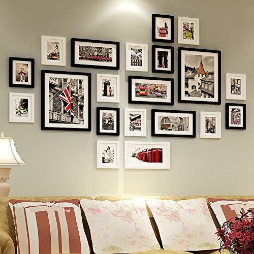 Qpla cornice portafoto da parete cornici foto foto soggiorno parete di legno solido telaio - Immagini di camere da letto ...