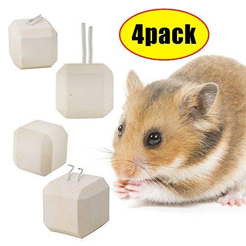 Mineral Stein Kauen Spielzeug,Meiso Mineral Stein Calcium Kauen Spielzeug Z�hne Grinder Hamster Ratte Chinchilla Kaninchen