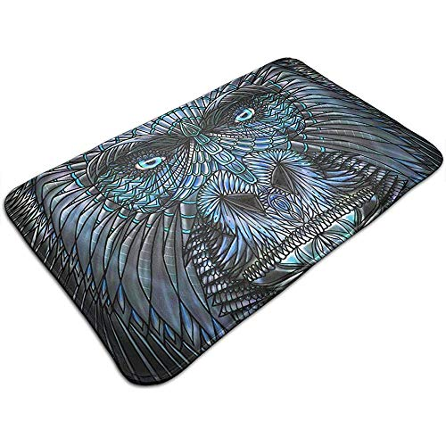 G.h.y tappetini per porte per esterni per interni fauna selvatica gorilla antiscivolo lavabile ingresso tappeti tappeti zerbini 50 * 80cm