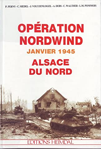 Opération Nordwind, janvier 1945, Alsace du nord