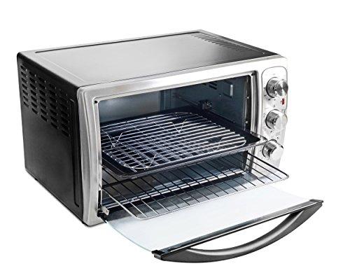 Oster TSSTTVXXLL 1640-Watt Over Toaster Grill (Sliver)