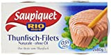 Saupiquet Thunfisch Filet Naturale ohne Öl, 10er Pack  (10 x 160 g)
