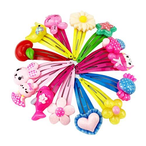 Koehope 10 STÜCKE Mix Candy Farbe Baby Haarnadel -