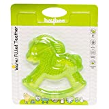 #5: Baybee Horse Teething Toys for Best Baby Teether Massage. Molar Teeth Soother with Soft Sensory BPA Free Natural Silicone Teethers Toy for Babies | Make Your Happy Infant Smile Easy (Green)