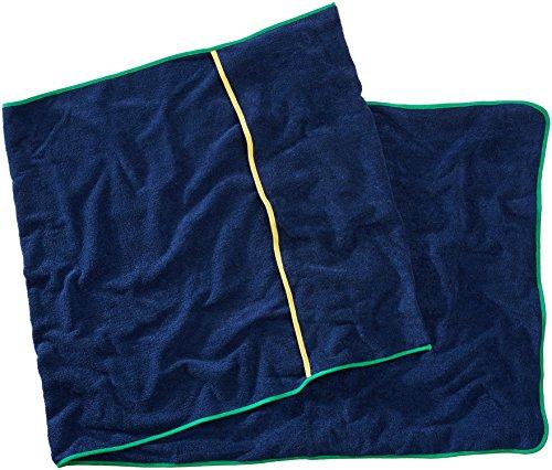 Sowel Frottee Liegen-Auflage - Strandtuch mit Kapuzenüberschlag, Rutschfest für Strand- und Garten-Liegen, 220 x 80 cm, 100% Baumwolle