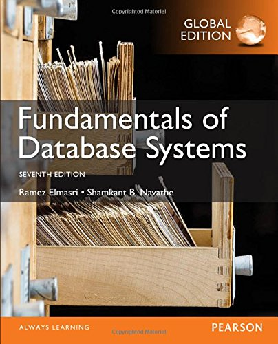 Fundamentals of Database Systems, Global Edition por Ramez Elmasri