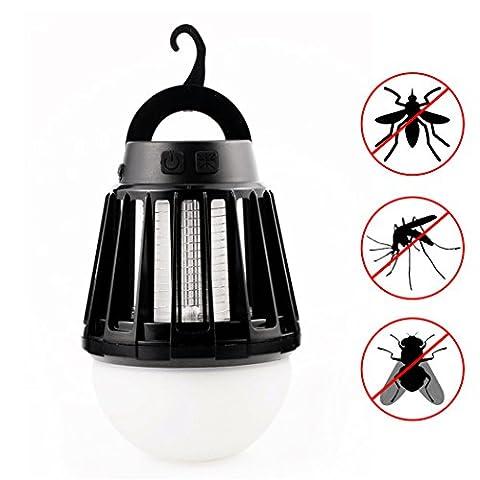 Mosquito Killer Lamp, Wanfei 2en 1lanterne de camping Electronic Piège